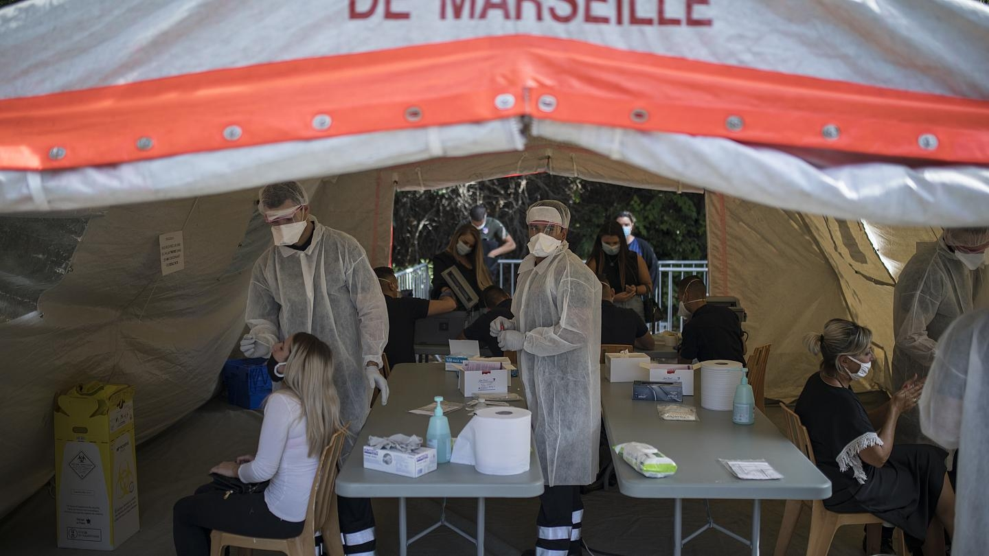 Britain and France are reporting record high one-day infection