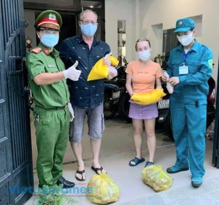 Expats Surprised to Get Aid Packages from Vietnamese Government
