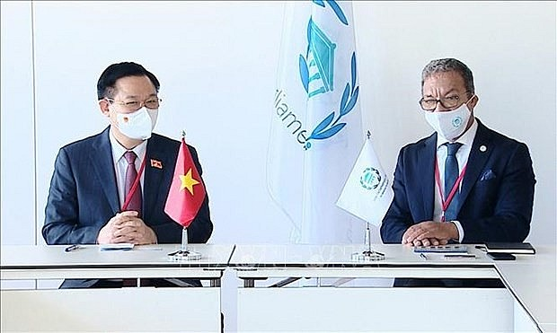 Vietnamese NA Chairman Meets with IPU President