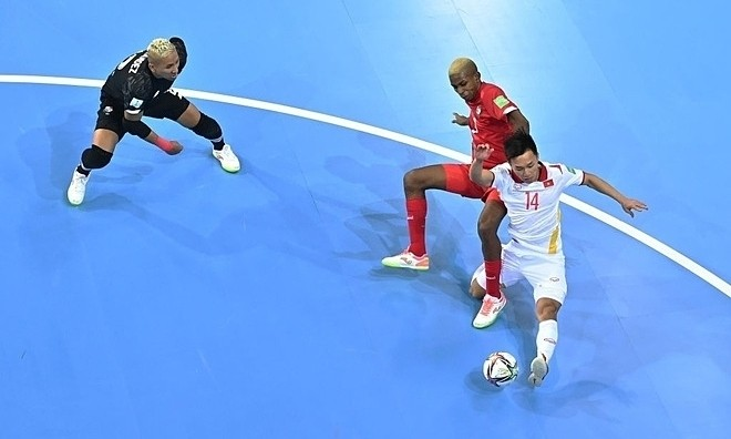 Young Vietnamese Talent in Futsal World Cup Got Good Words from FIFA