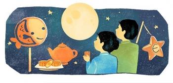 google doodle celebrates mid autumn festival with evocative illustration