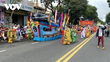 impressive whale worshipping festival in vung tau city