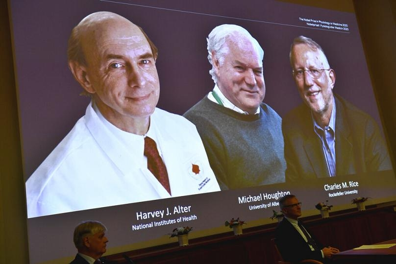 world breaking news today october 6 nobel prize in medicine joint award goes to scientists discovered hepatitis c virus