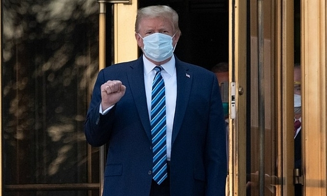 Trump discharged from hospital after three days, leaving stock market on the rise