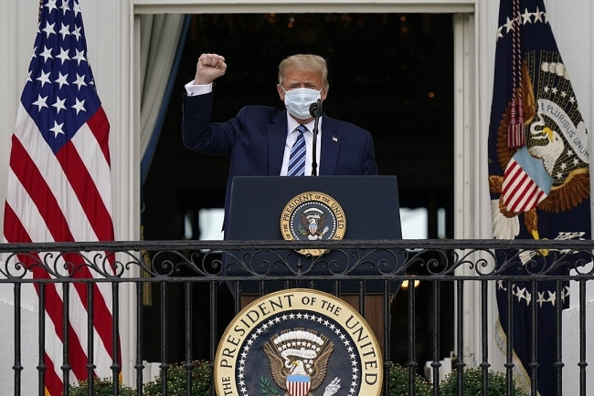 World breaking news today (October 11): Trump first appears in public since hospitalization for Covid-19