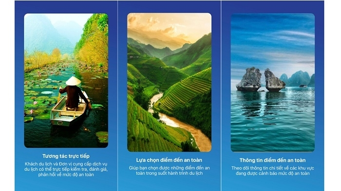 Information about destinations is also available (Photo: VGP)
