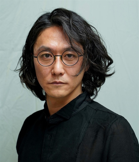 Japanese artist Tsuyoshi Sugiyama (Photo courtesy of Vietnam Youth Theatre)