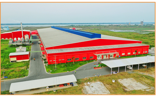 Tan Hiep Phat factory from above (Photo: Cafe F)