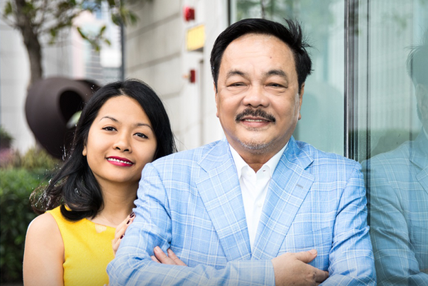 Mr. Tran Quy Thanh, chairman of Tan Hiep Phat Beverage Group (Photo: Cafe F)