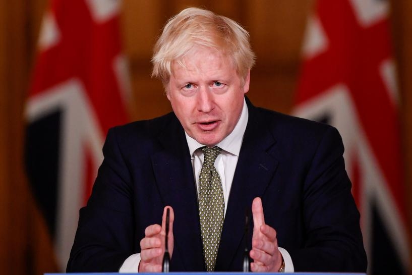 Prime minister boris johnson said on friday it was time to prepare for a no-trade deal brexit unless the european union fundamentally changed course (photo: reuters)