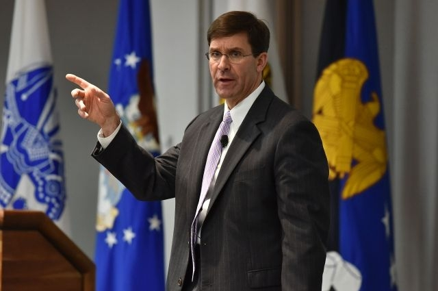 Pentagon chief Mark Espe (Photo: Pledge Times)