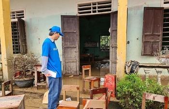 unicef over 15 million vietnamese children affected by floods in central region