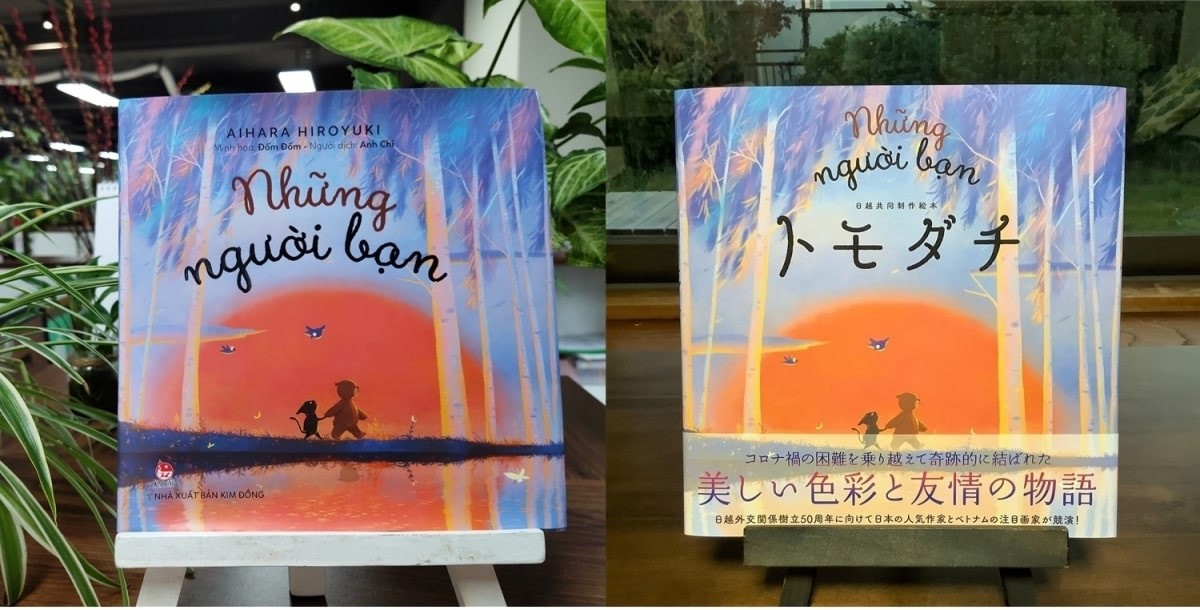 Comic Illustrated by Vietnamese Artist Published in Japan