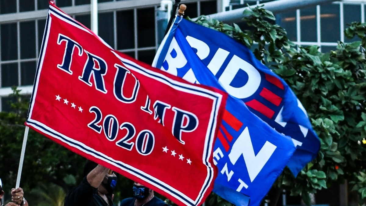 The FBI is investigating the alleged harassment of a Joe Biden campaign bus last week by motorists displaying Trump 2020 flags