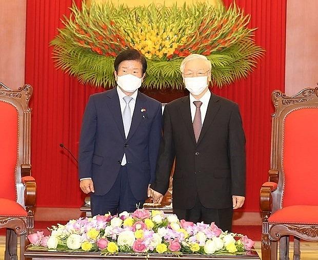 RoK media covers NA Speaker's visit to Vietnam