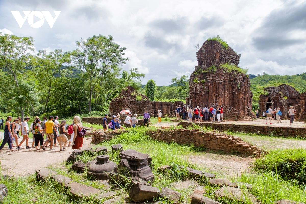 My Son sanctuary in Central Vietnam (Photo: VOV)