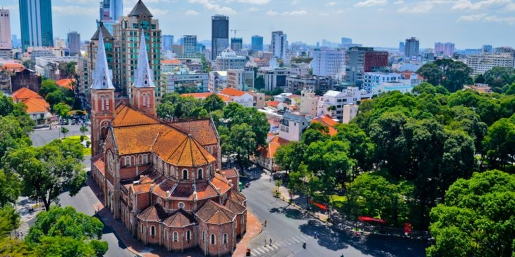 One corner in Ho Chi Minh City (Photo: Expat)