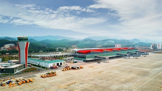 Van Don International Aiport also awarded in the WTA (Photo: VNS)