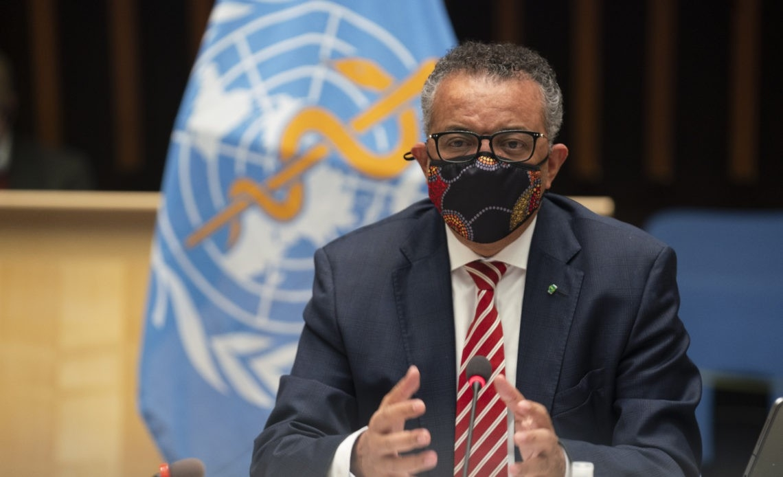 """""""A vaccine on its own will not end the pandemic,"""" Tedros warned earlier Monday (Photo: Plataform Media)"""