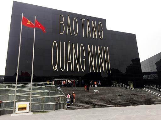 The facade of Quang Ninh museum (Photo: Bao Quang Ninh)