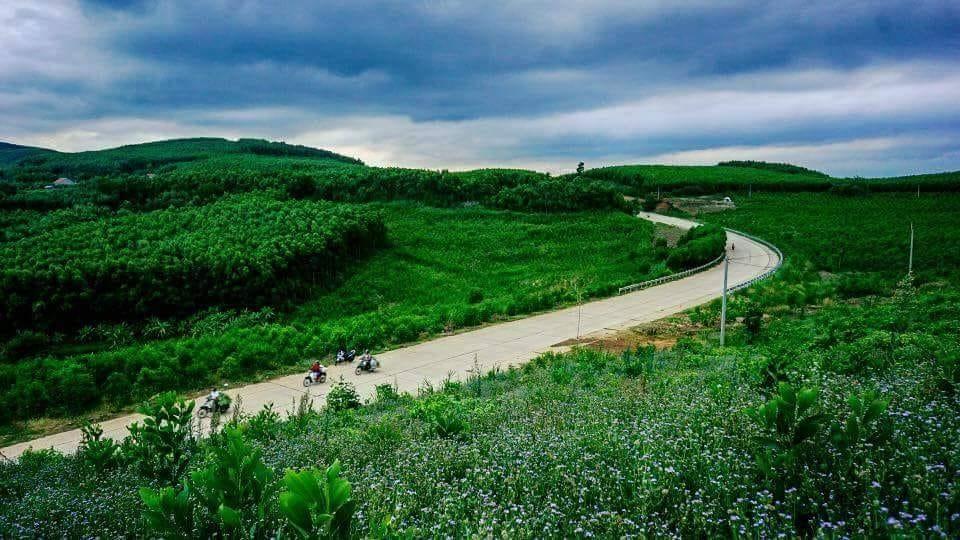 A glimpse at the gorgeous Van Hoa pleatau, southern Vietnam