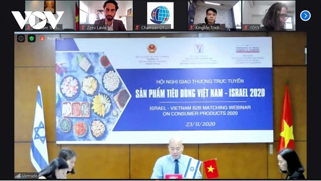 Vietnam and Israeli enterprises to intensify trade exchange