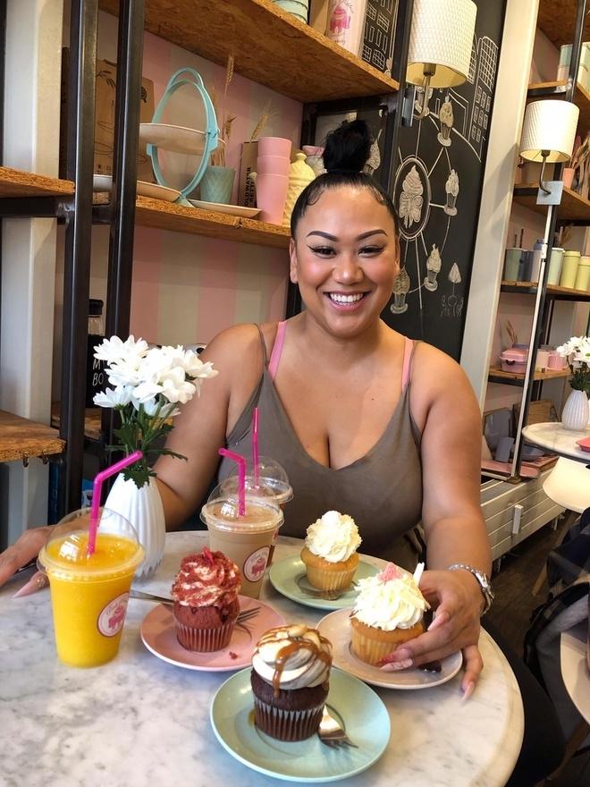 Brittanya Karma's real name is Nguyen Tran Phuong Linh (Photo: Vietnamnet)