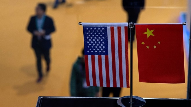 The u.s. house of representatives is set to vote on bipartisan legislation that would impose restrictions chinese companies (photo: market watch)