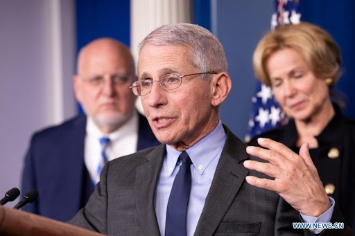 Anthony fauci, a top u.s. infectious disease expert,