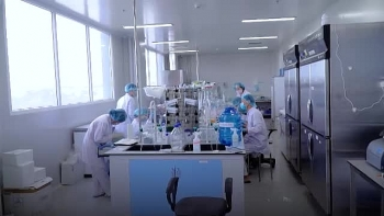in video view into vietnams covid 19 vaccine manufacturing factory