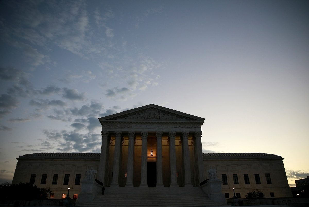 """""""Texas has not demonstrated a judicially cognizable interest in the manner in which another State conducts its elections,"""" the U.S. Supreme Court wrote in an unsigned ruling Friday evening. (Photo: Reuters)"""