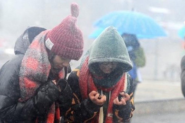 There might be frost in mountainous areas (Photo: Bao Chinh Phu)