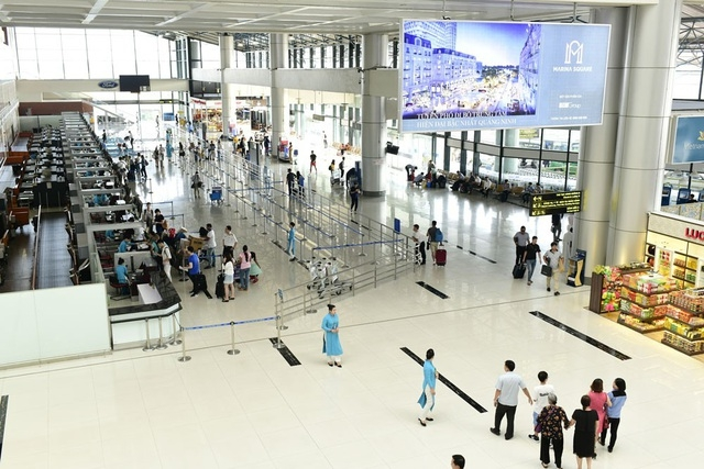Noi Bai International Airport (Photo: Dan Tri)