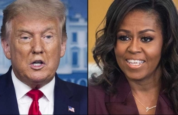 world breaking news today december 30 trump and michelle obama most admired man woman in america