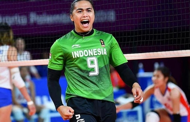 Indonesian key female volleyball player turns out to be a man