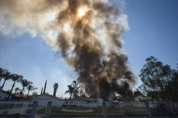 Two dead in massive California explosion sparked by fireworks