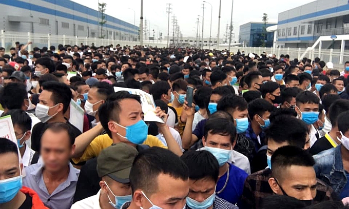 As global manufacturers relocate to Vietnam, Chinese netizens fear job losses