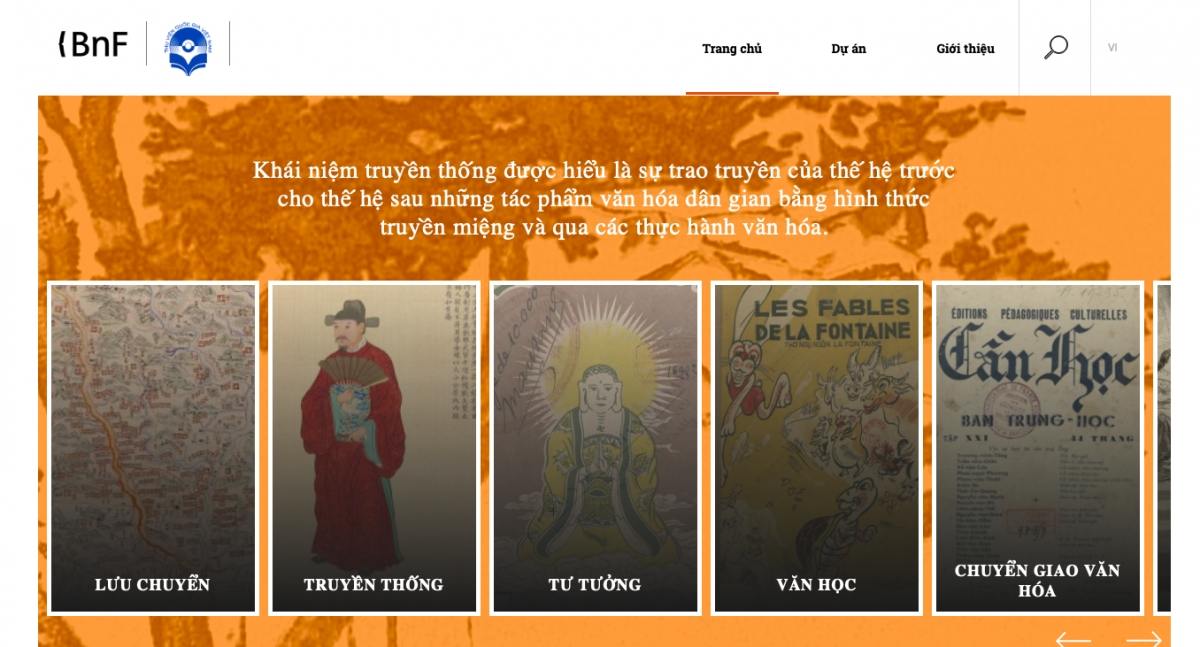 Vietnam and France's shared heritage preserved through digital library
