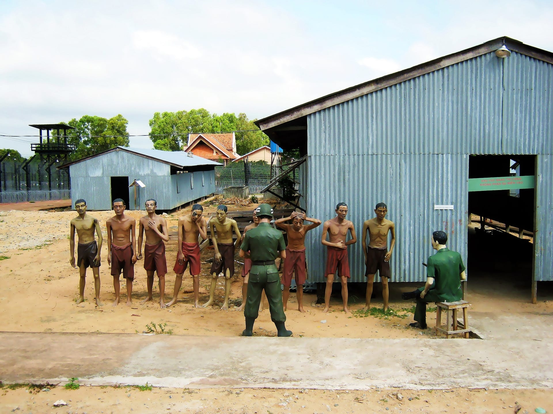 Two famous prisons in Southern Vietnam