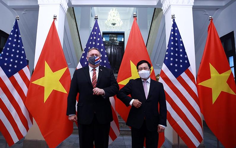 vietnam us discuss monetary policy via phone talks