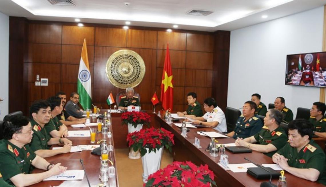 vietnam india strengthen defense ties via january 12 videoconference