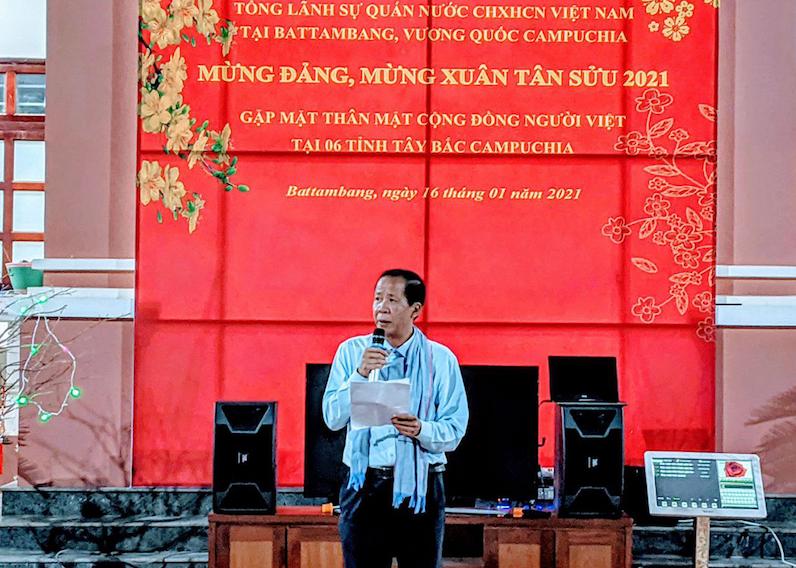 vietnamese community in northwestern cambodia celebrates the party congress