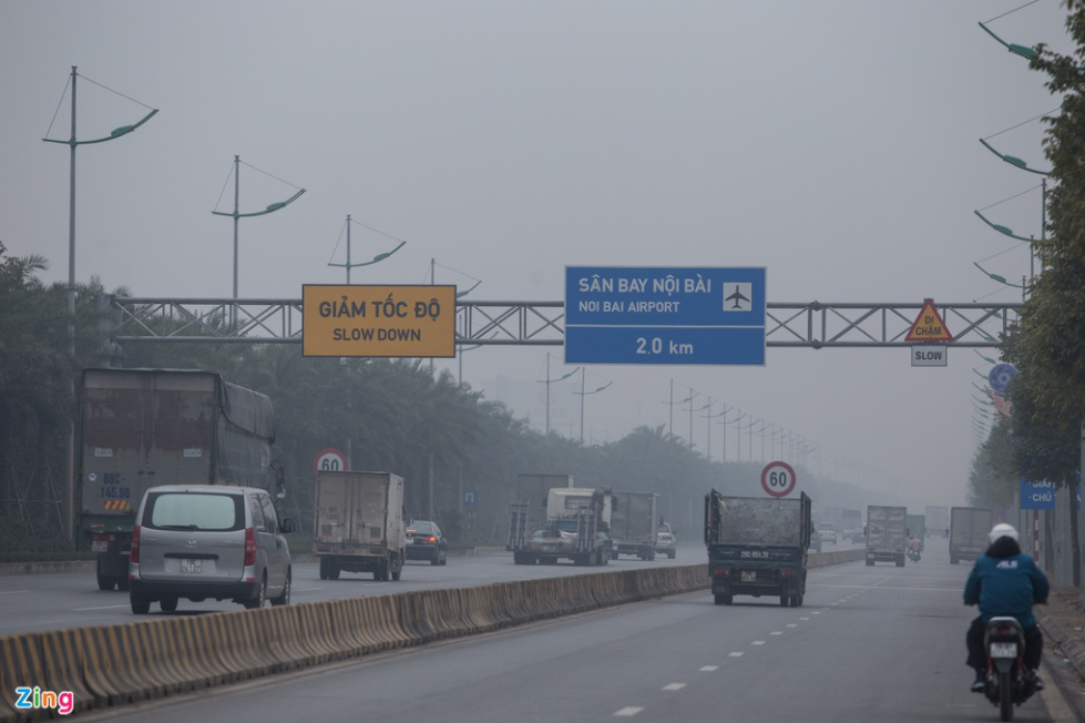 Flights unable to land in Hanoi due to thick fog