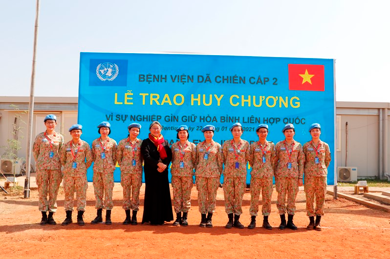 Vietnam's field hospital in South Sudan honored for outstanding contributions