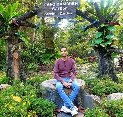 unprecedented experience in vietnam of an indian man