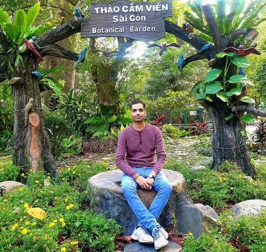 unprecedented experience in vietnam of an indian man