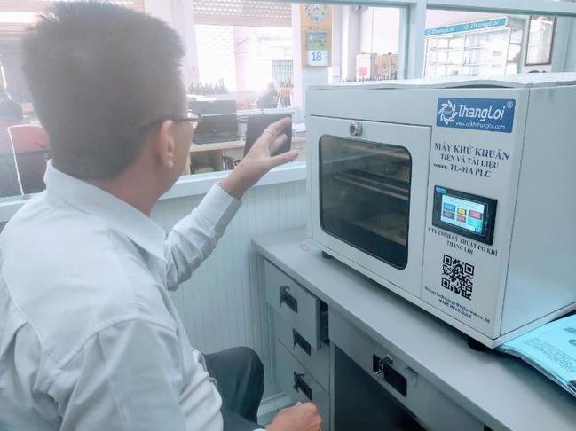 Unique made-in-Vietnam sterilizer for money