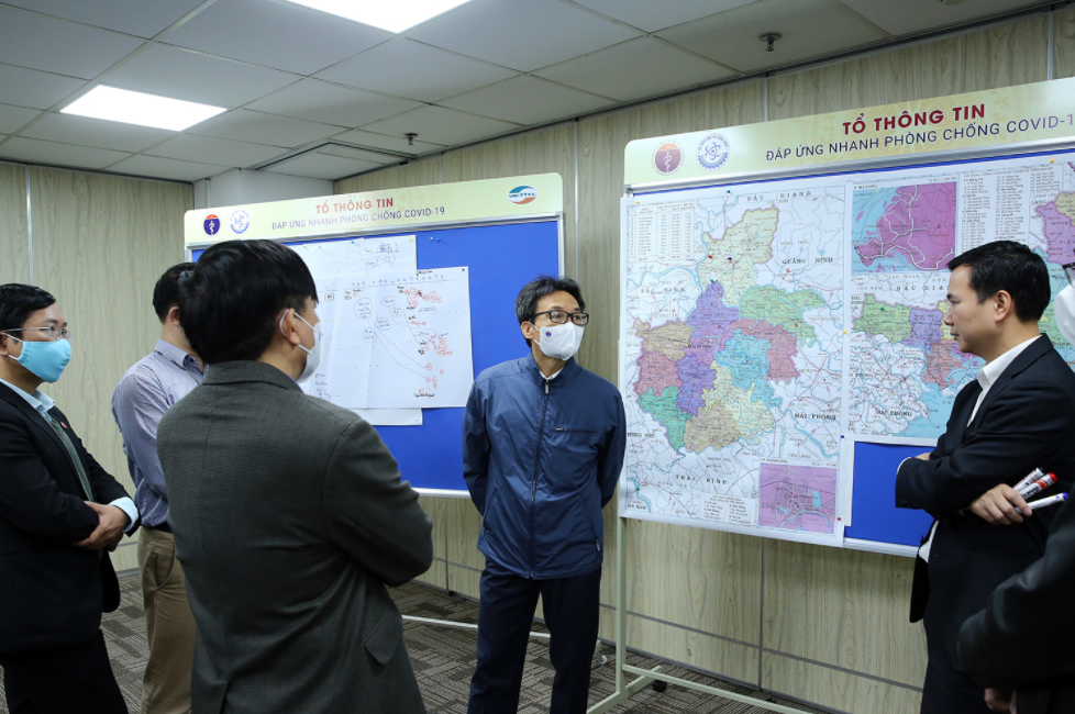 deputy pm calls people to proactively provide pandemic data for countrys joint sake