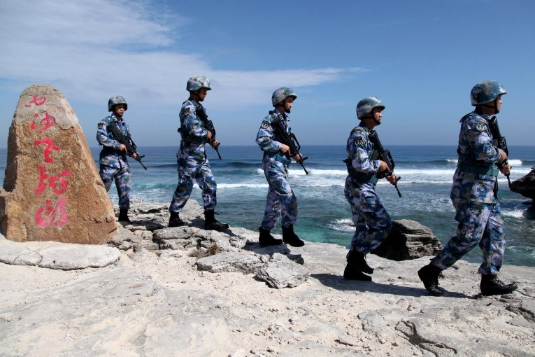 china holds military drills in bien dong sea this week