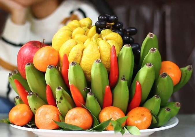 vietnam tets regional five fruit tray in differences